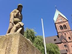 A German war memorial for WWI & II