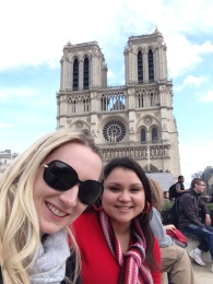 Notre Dame (no humpbacks witnessed)