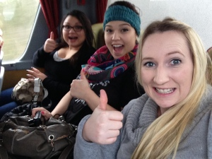 On ze bus!
