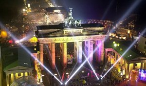 Brandenburg Gate New Years
