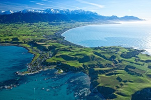 What Kaikoura looks like on a nice day