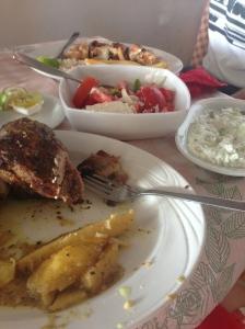 Greek yummy foods