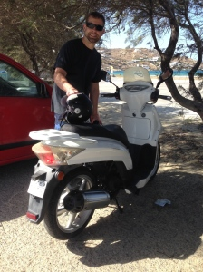 Trusty scooter!
