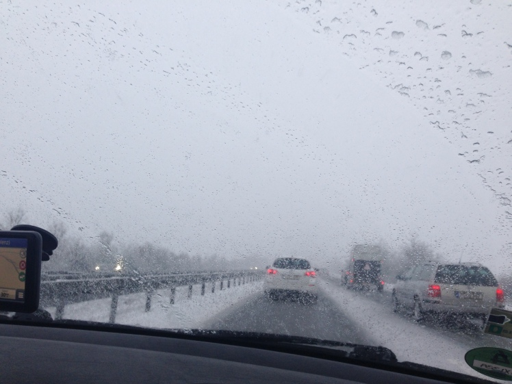 The weather on the drive