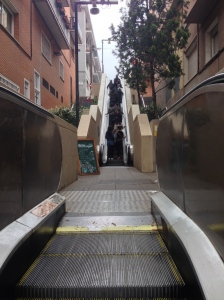 Escalators in the street!