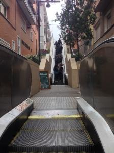 Escalators in the street!