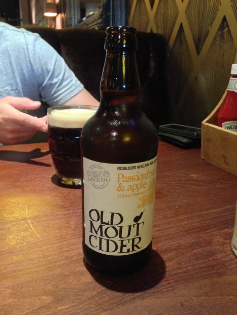 A kiwi cider in Inverness - choice!