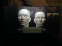 A pressurised styrofoam skull that went to the bottom of Loch Ness