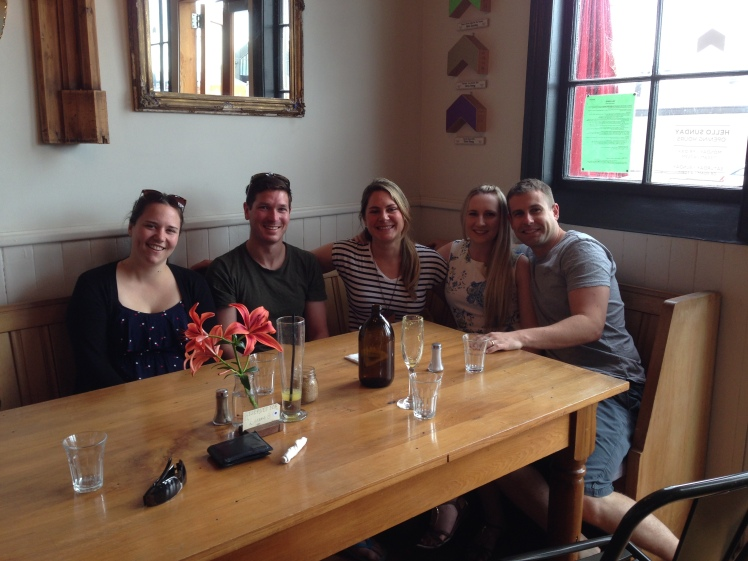 Meeting up with Perth friends who have since returned home! (And these are all people who visited us in Germany! Yay!)