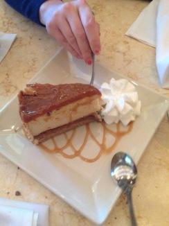 Mmmmmmmm salted caramel cheesecake ughhhghhghghgh