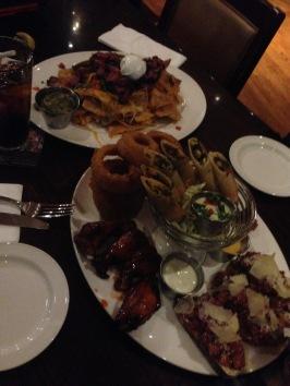 SO. much. FOOD