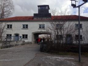 Entrance to Dachau