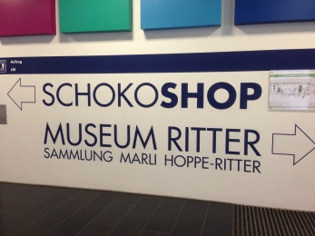 A museum of chocolate - my kind of place
